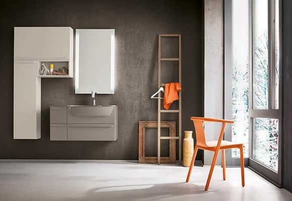 Myl Idea progetta arredamento per bagno moderno italiano, componibile e su misura a Torino
