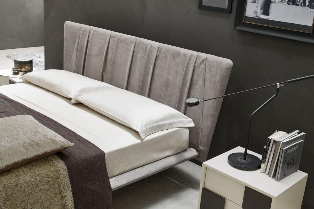 Myl Idea progetta arredamento italiano per camere da letto, cabine armadio e zona notte, moderne, componibili e su misura a Torino, letto di design