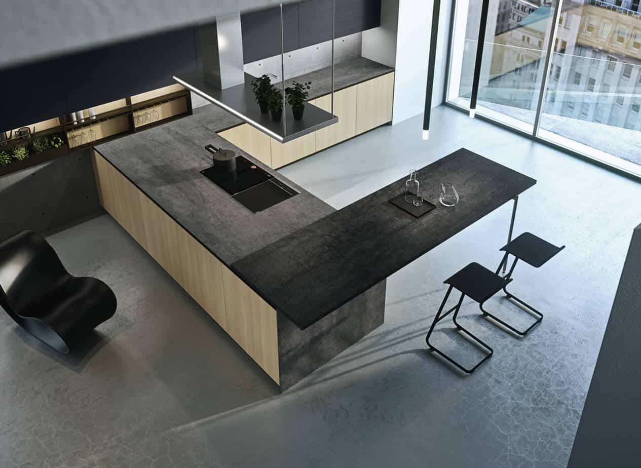 Myl Idea - cucine moderne italiane e arredamento componibile a Torino - cucina moderna italiana open space