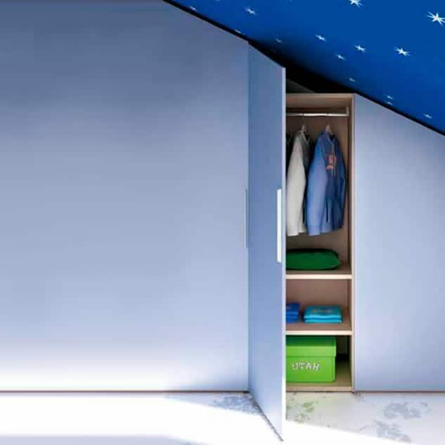 Myl Idea - cucine moderne italiane e arredamento componibile a Torino - cabina armadio sottoscala