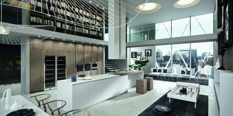 Myl Idea - cucine moderne italiane e arredamento componibile a Torino - cucina Arrital cucina open space