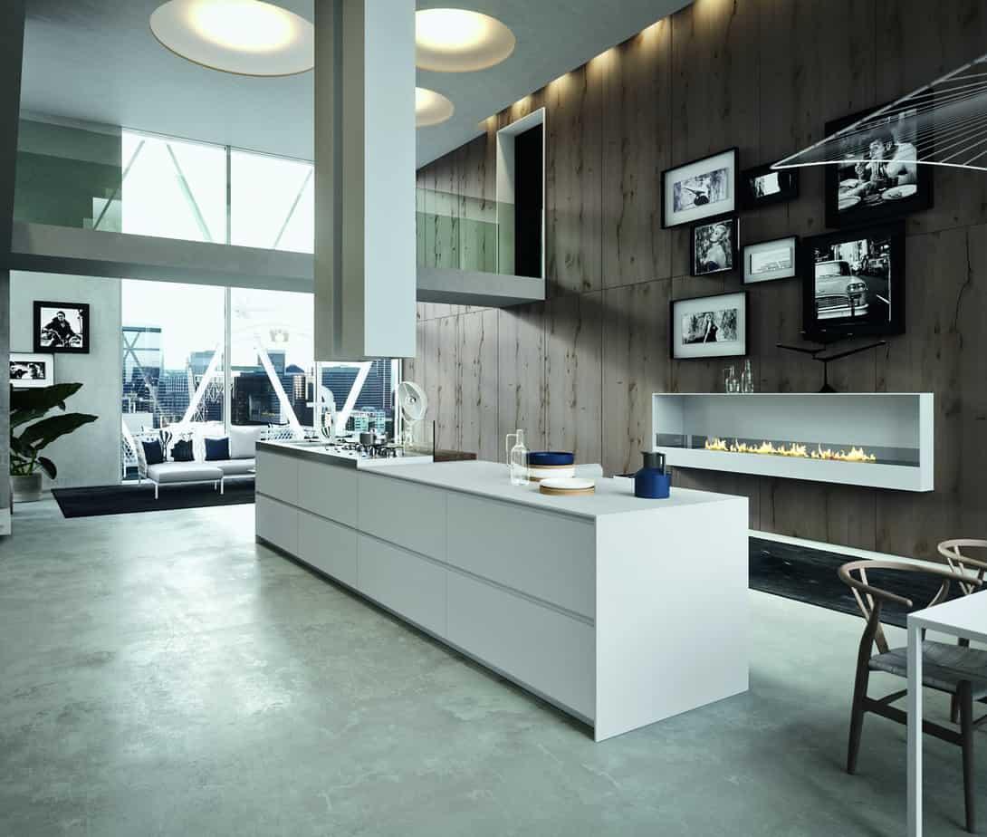 Myl Idea - cucine moderne italiane e arredamento componibile a Torino - cucina Arrital cucina con isola