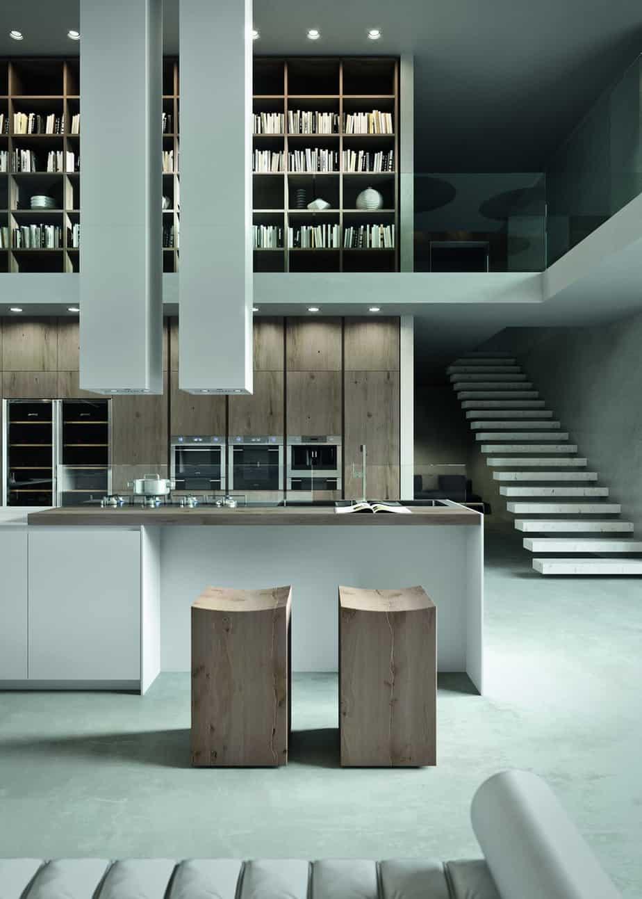 Myl Idea - cucine moderne italiane e arredamento componibile a Torino - cucina Arrital cucina bianca con isola