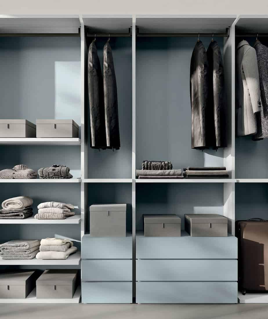 Myl Idea - cucine moderne italiane e arredamento componibile a Torino - cabina armadio