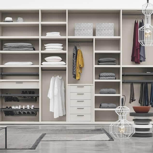 Myl Idea - cucine moderne italiane e arredamento componibile a Torino - cabina armadio in cartongesso