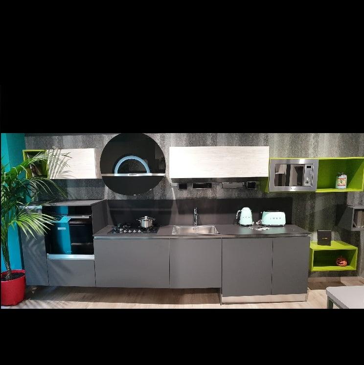 Cucina Lineare Silkky 420cm Myl Idea Cucine Moderne E Arredamenti Componibili A Torino