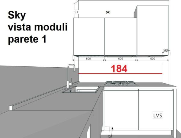 progettare cucina 1