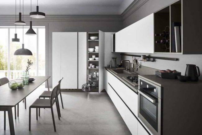 Myl Idea - cucine moderne italiane e arredamento componibile a Torino - cucina open space minimal