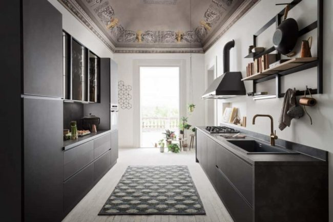 Myl Idea - cucine moderne italiane e arredamento componibile a Torino - cucina moderna design industrial